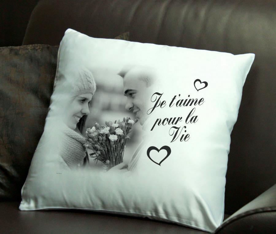 coussin coeur personnalis cadeau personnalis. Black Bedroom Furniture Sets. Home Design Ideas