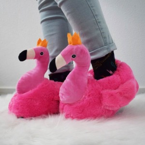 Chaussons Flamant rose - Adulte