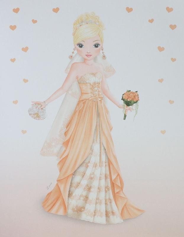 Album de coloriage top model cadeau jeune fille - Cadeau jeune marie ...