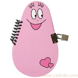 Carnet secret Barbapapa