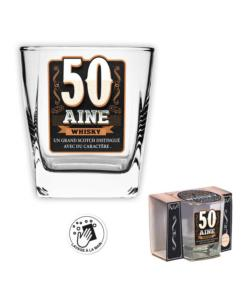 Verre à Whisky 50 aine