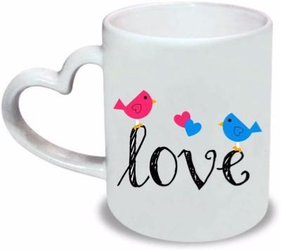 Très Mug anse coeur personnalisé, mug original, cadeau personnalisé ZT43