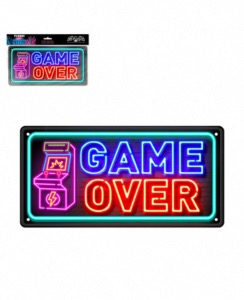 Plaque de porte Game Over