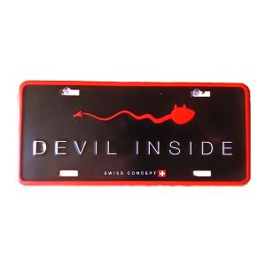Plaque de porte Born 2B Devil Inside